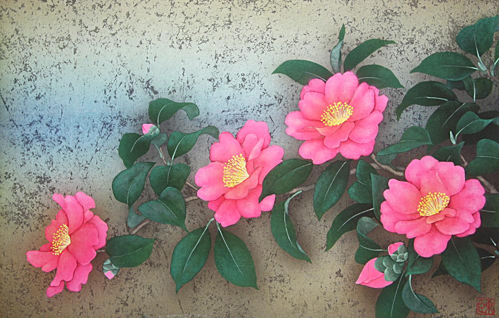 P6 山茶花