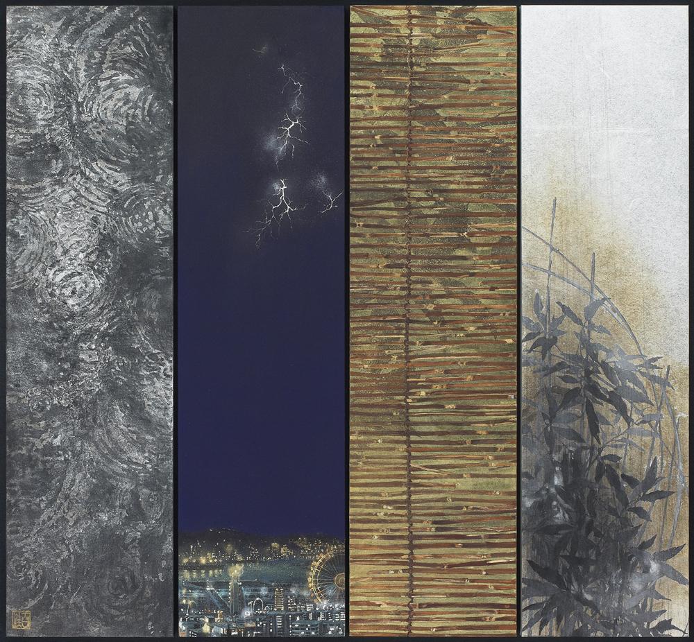 『 越境 』 53,0×57,5cm