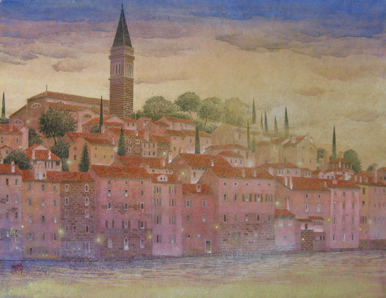 P10アドリア海の街(クロアチア・ロヴェニ)