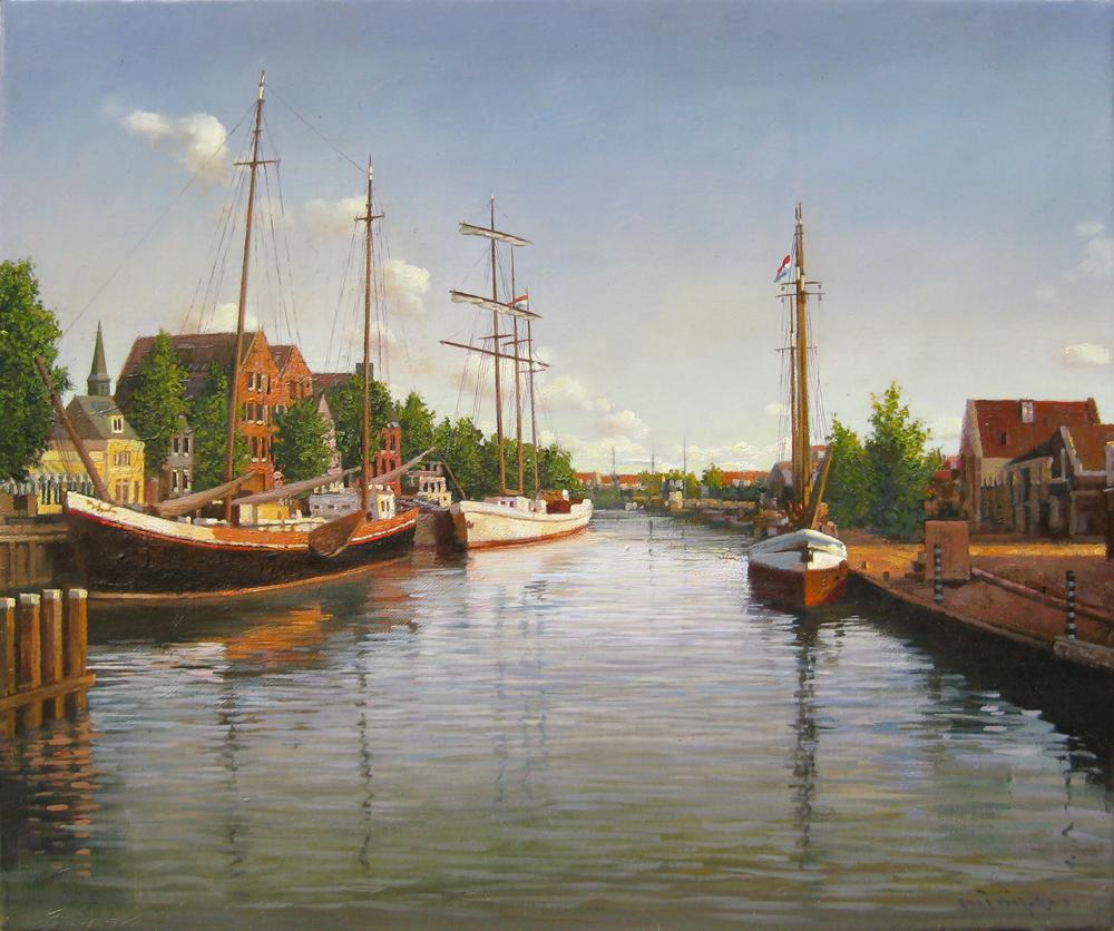 F8フォレンダムの舟(アムステルダム郊外)929