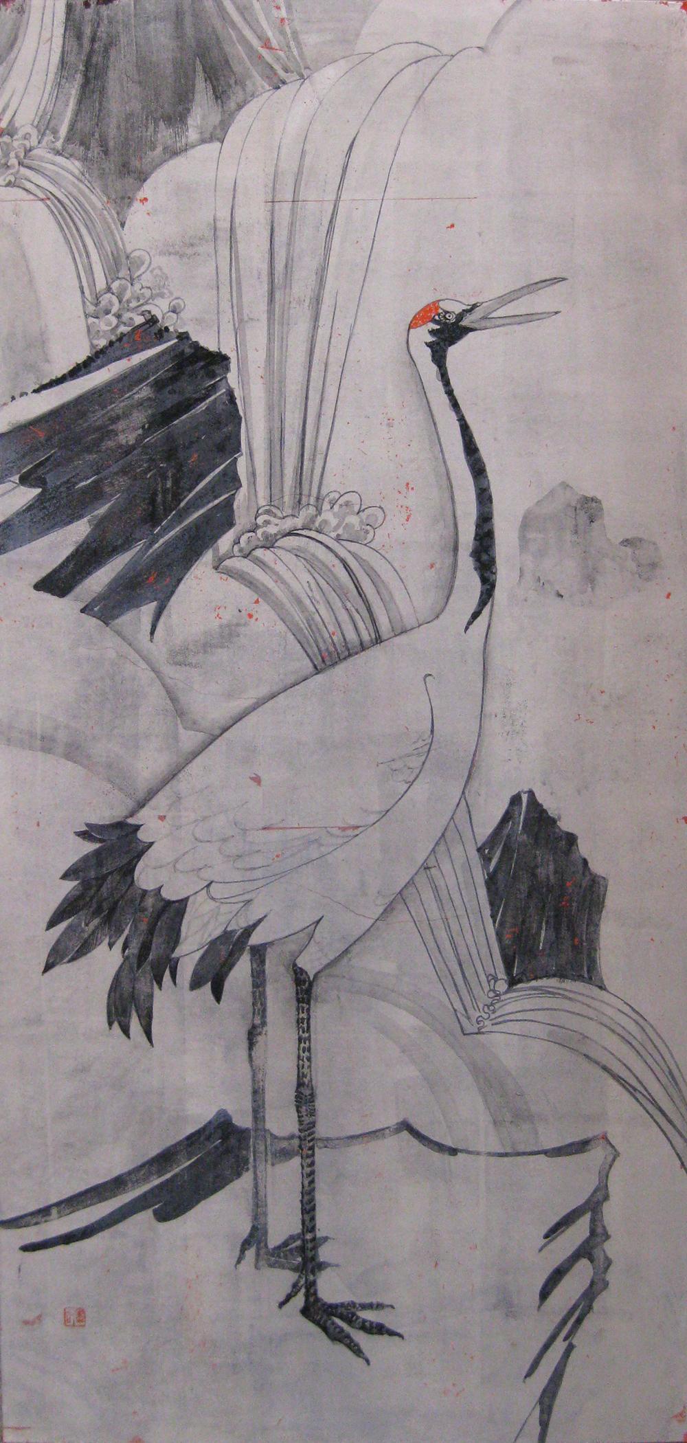 ●30変形(910×410) 鶴