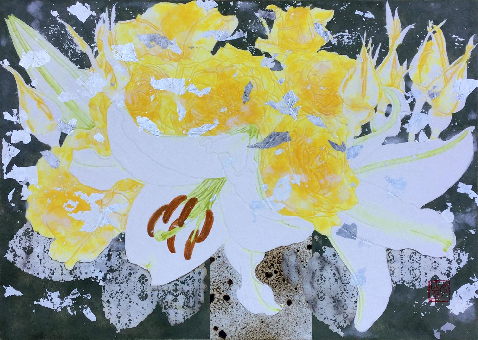 F4 白百合と黄色い薔薇