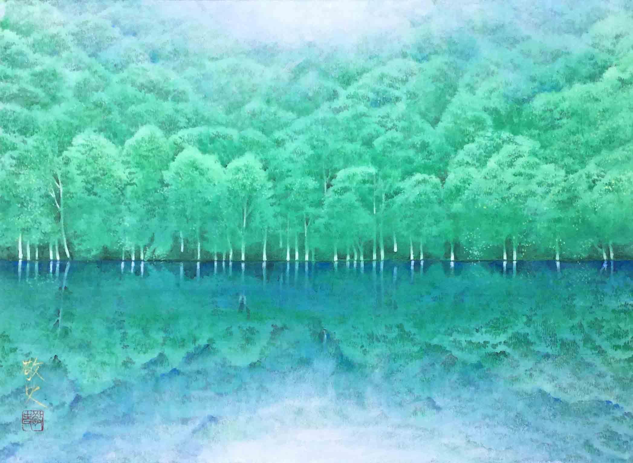 P8 静寂の森(青森・蔦沼)915